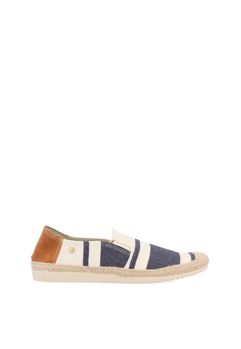 Pantofi loafer cu model in dungi imagine