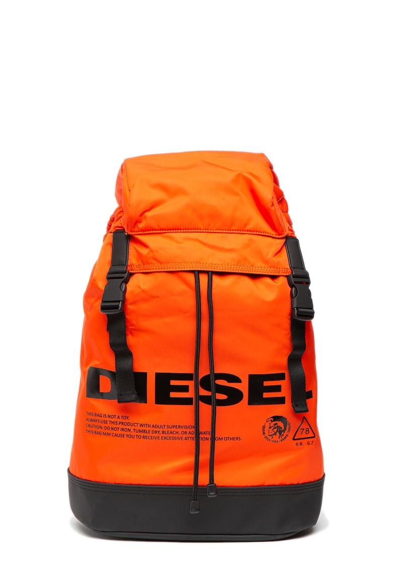 Diesel Rucsac cu imprimeu logo contrastant Suse