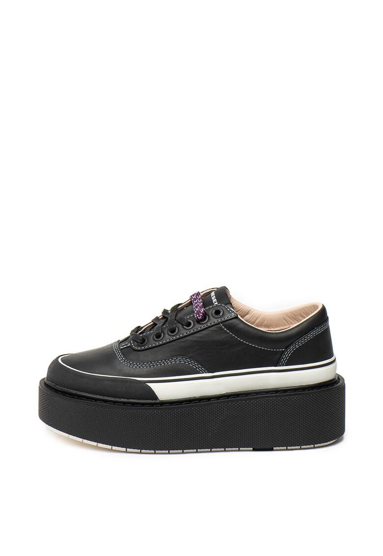 Pantofi sport wedge - din material textil Scirocco
