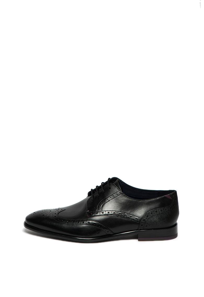 Pantofi brogue din piele Trvss