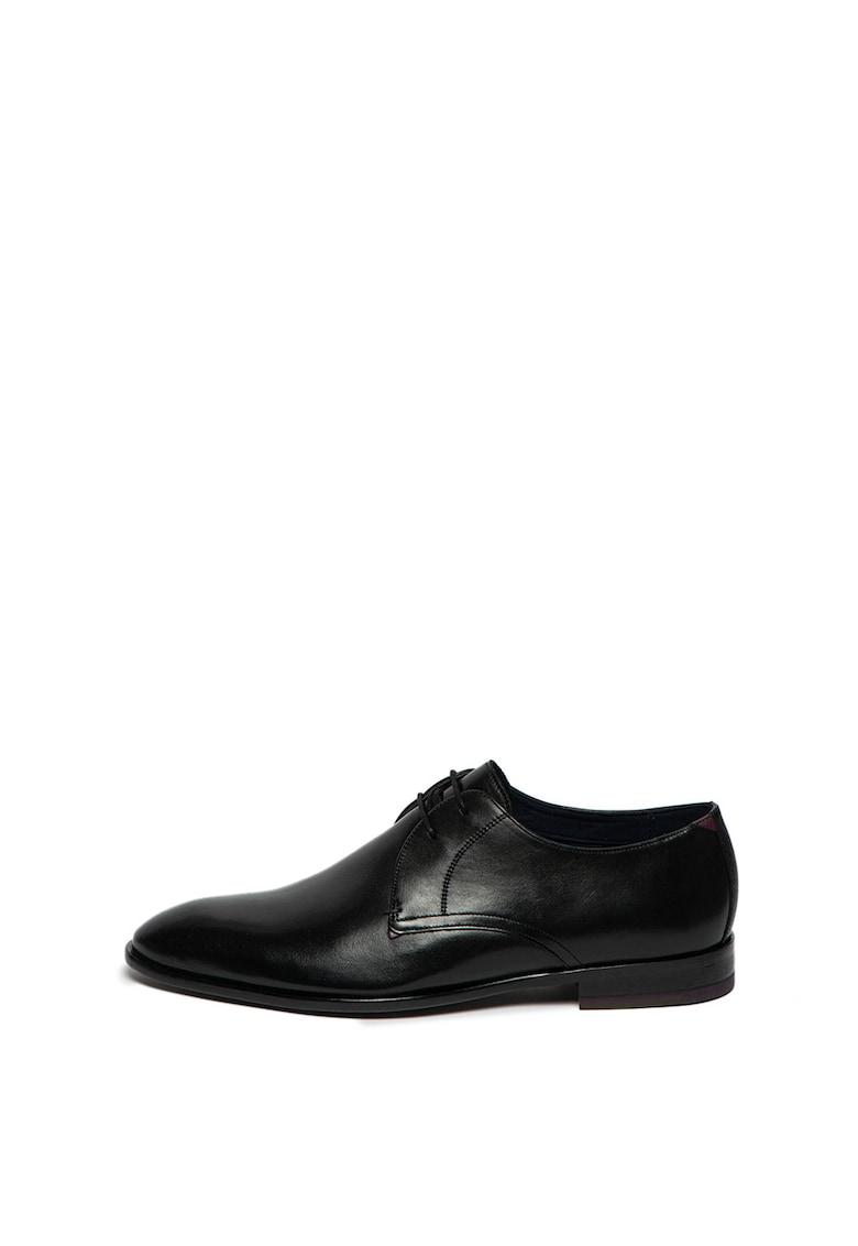 Pantofi derby din piele - cu branturi cu amortizare Sumpsa imagine