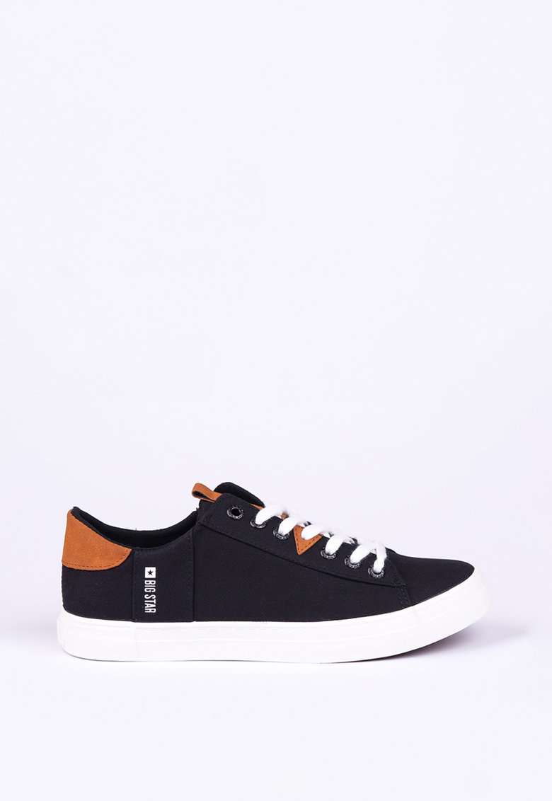 Pantofi sport din piele ecologica si material textil imagine fashiondays.ro