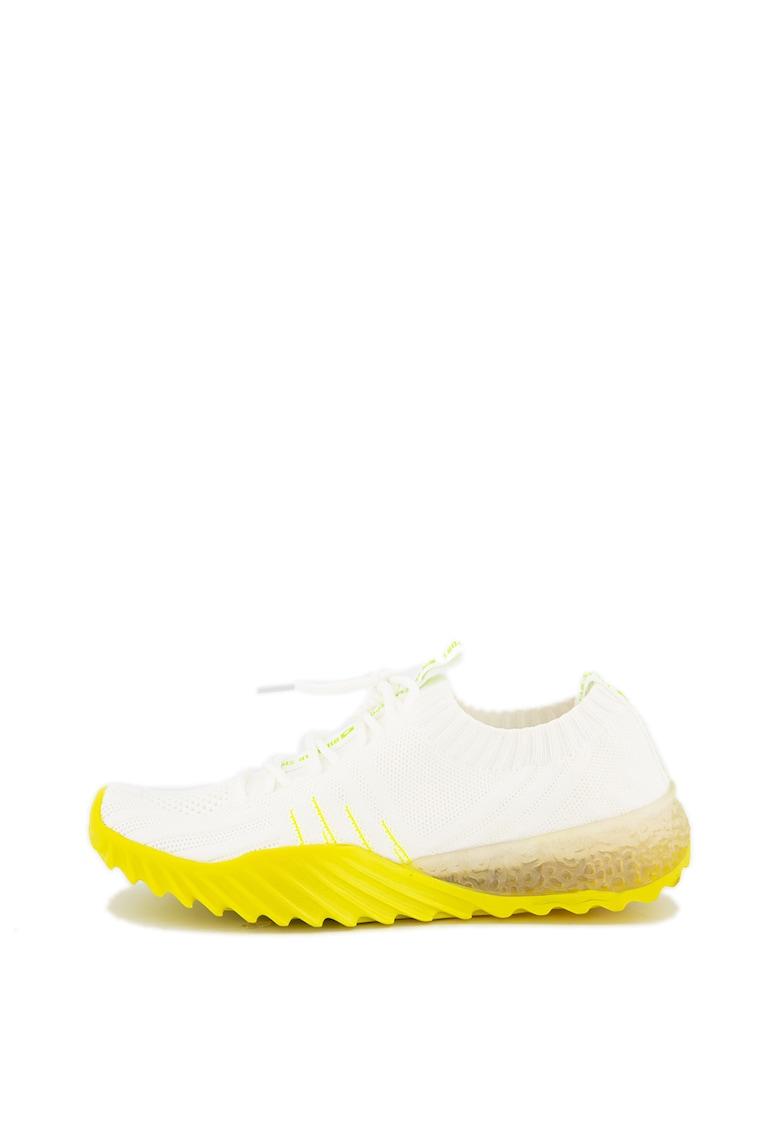 Pantofi sport slip-on cu aspect tricotat imagine promotie