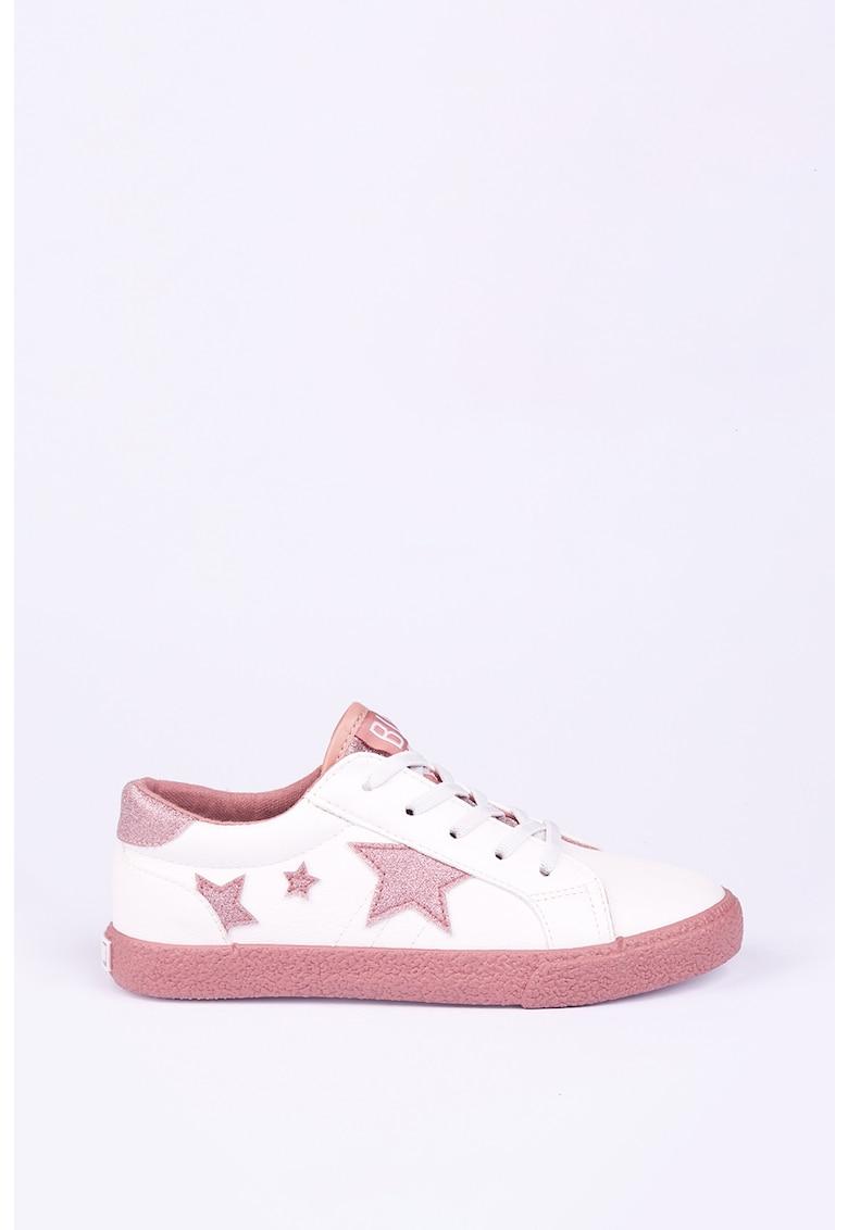Big Star Pantofi sport din piele ecologica cu detalii stralucitoare