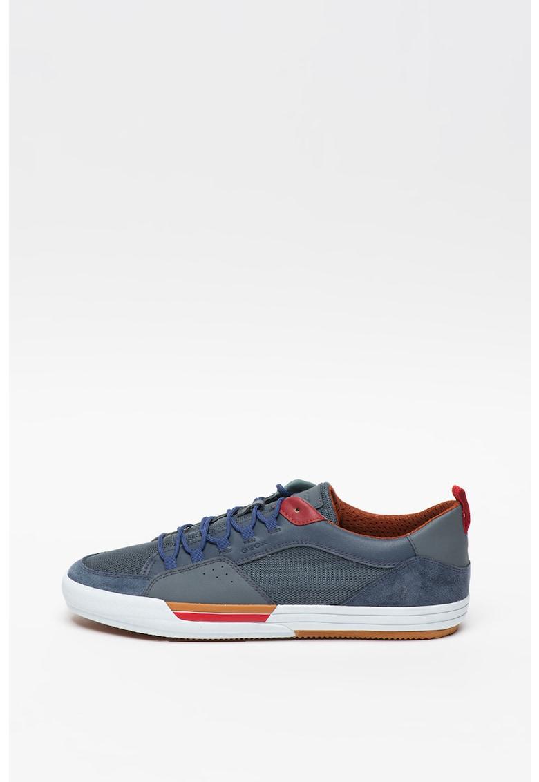 Pantofi sport de piele cu branturi detasabile Kaven