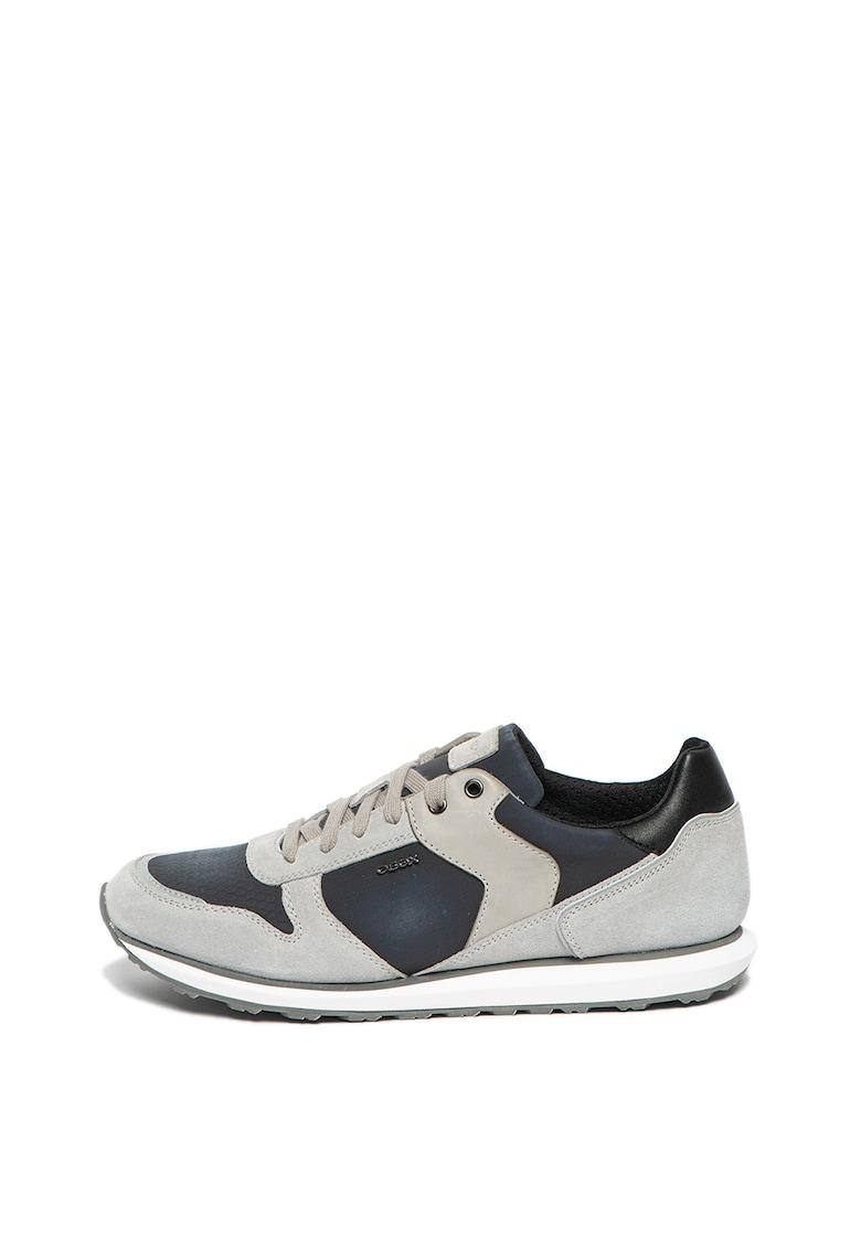 Pantofi sport cu garnituri de piele intoarsa Volto
