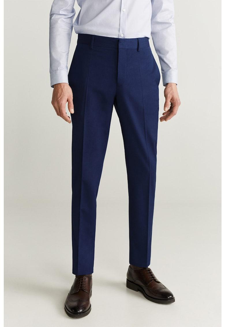 Pantaloni eleganti super slim fit Paulo imagine