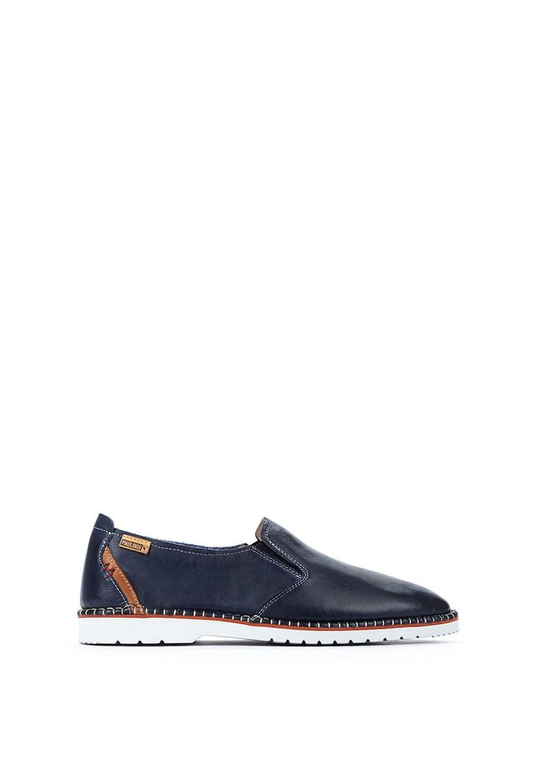 Pantofi loafer din piele Albir imagine