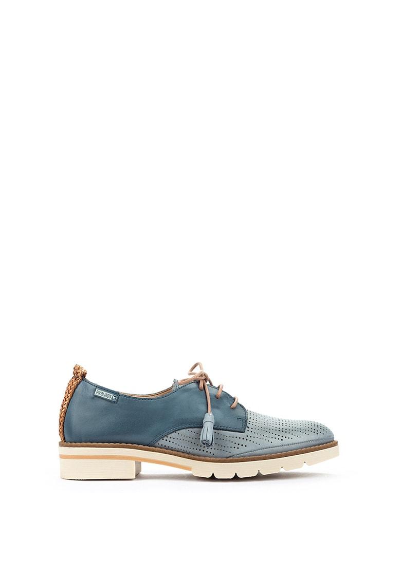 Pantofi de piele cu decupaje Sitges imagine promotie