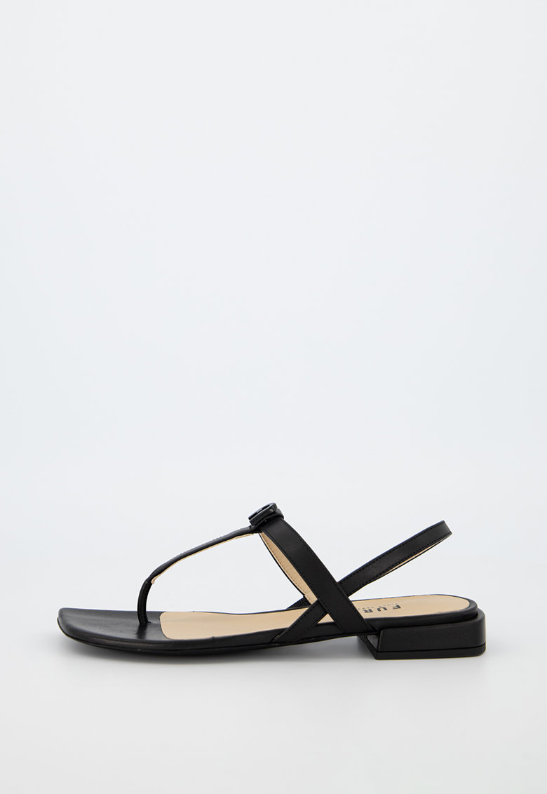Sandale de piele cu bareta separatoare imagine