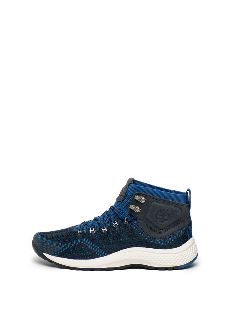 Pantofi cu garnituri din piele - pentru drumetii Flyroamtrail