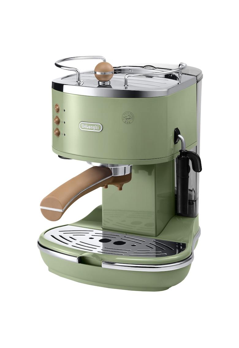 DeLonghi Espressor manual De'Longhi Vintage ECOV311.GR - 15 bar - 1.4 l - Sistem Cappuccino - Verde