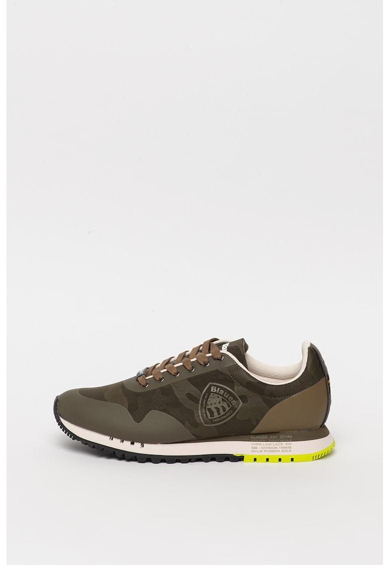 Pantofi sport din material textil cu detaliu logo Denver