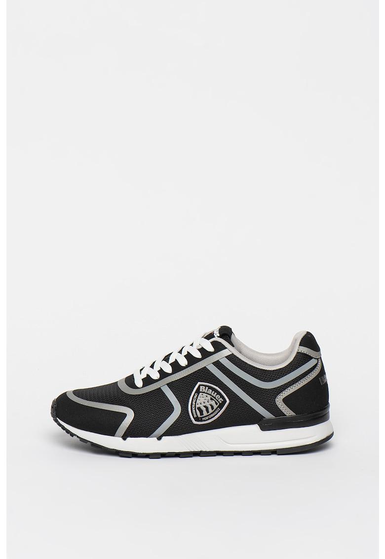 Pantofi sport de plasa cu detalii logo Tyler