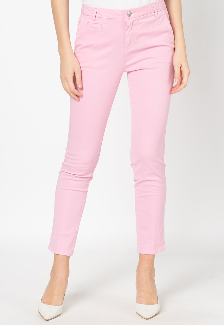 United Colors of Benetton Pantaloni chino crop slim fit