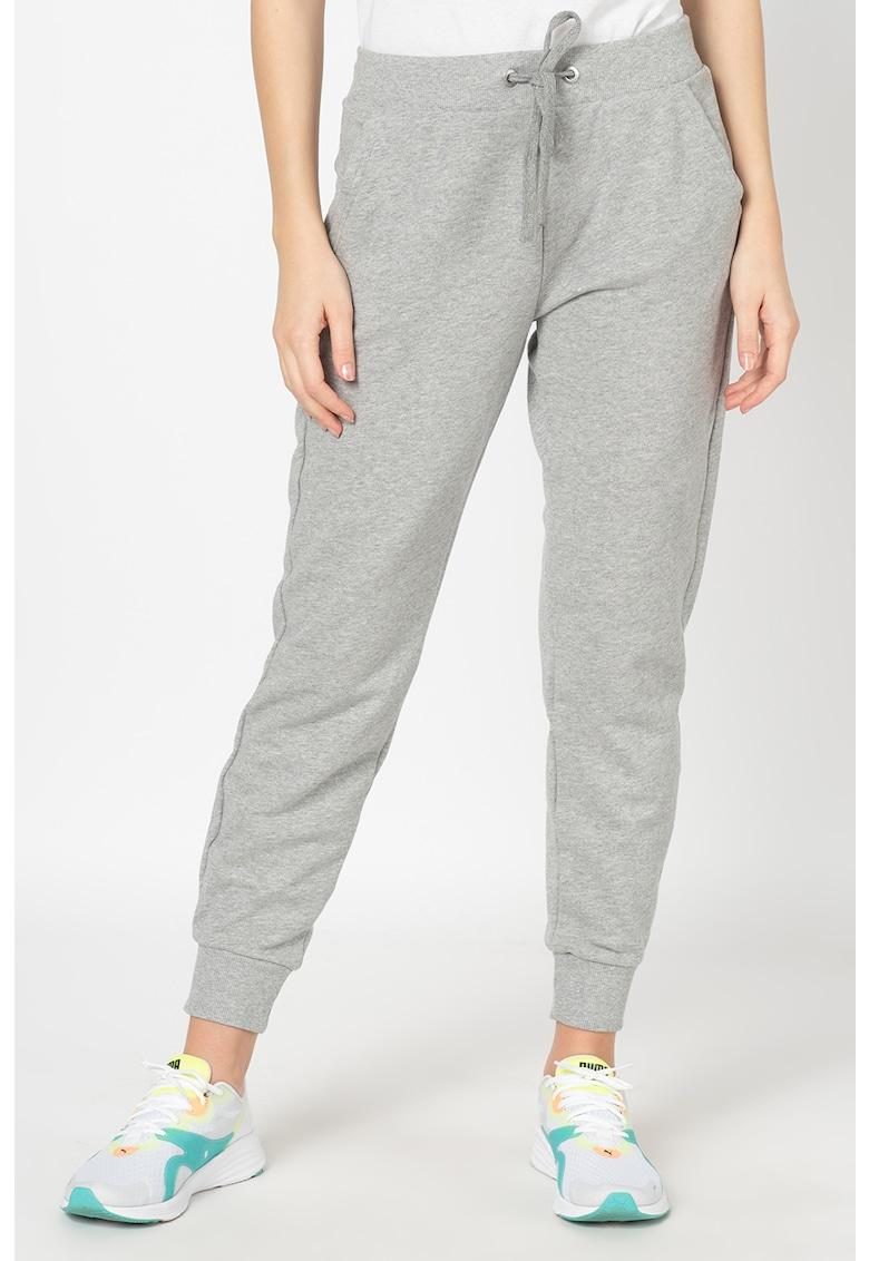 Pantaloni sport cu snur pentru ajustare
