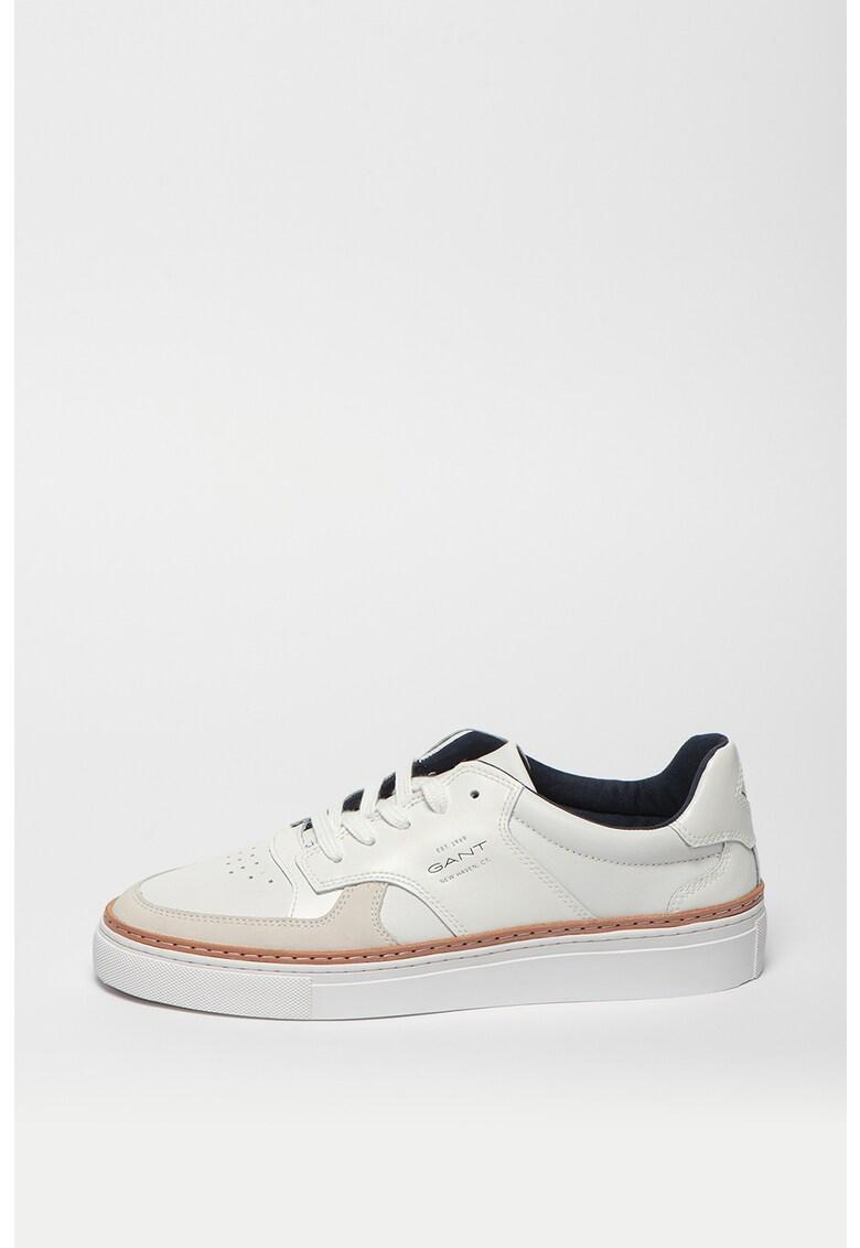 Pantofi sport de piele cu garnituri de piele nabuc McJulien