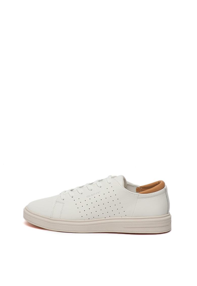 Pantofi sport de piele cu detalii logo Fairville