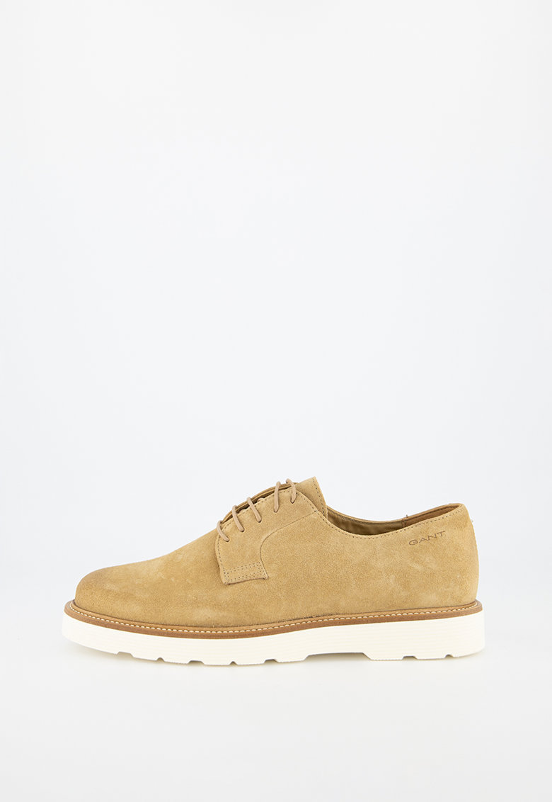 Pantofi derby de piele nabuc Prepburg