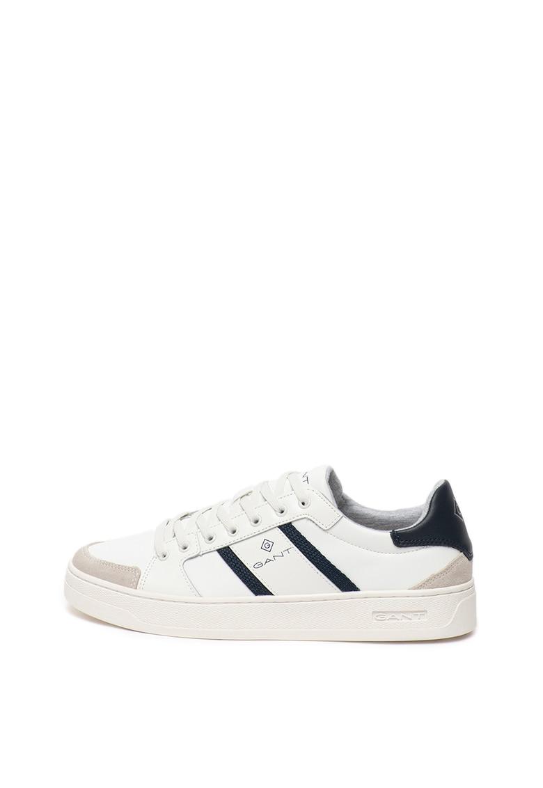 Pantofi sport de piele - cu accente contrastante Le Brook
