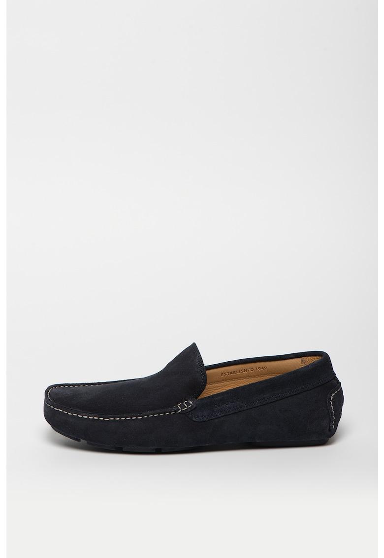 Pantofi loafer de piele nabuc Nicehill