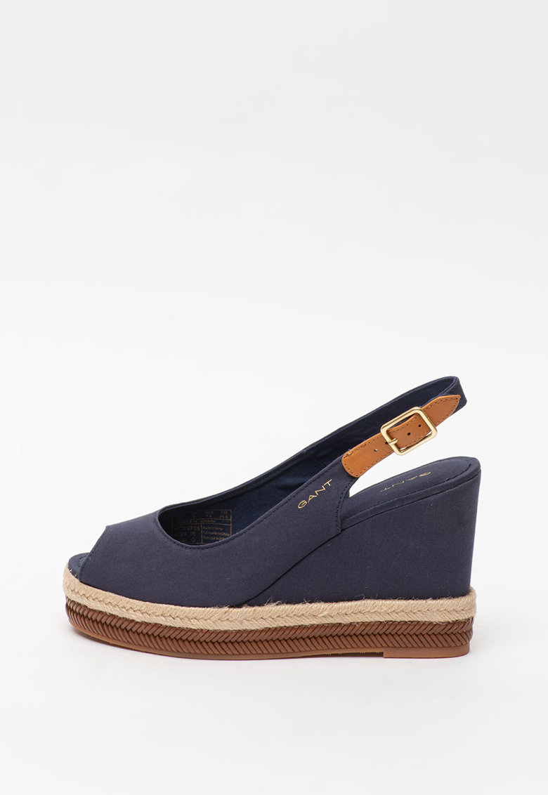 Sandale tip espadrile wedge Ivalice