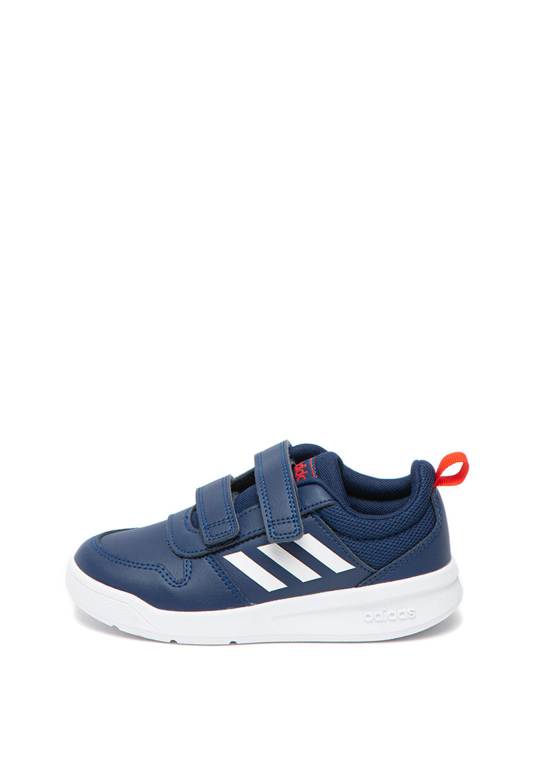 Adidas PERFORMANCE Pantofi sport cu inchidere velcro si insertii din piele Tensaur