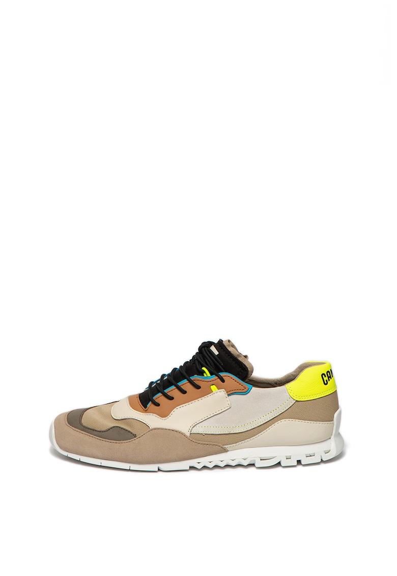 Pantofi sport cu garnituri de piele intoarsa Nothing