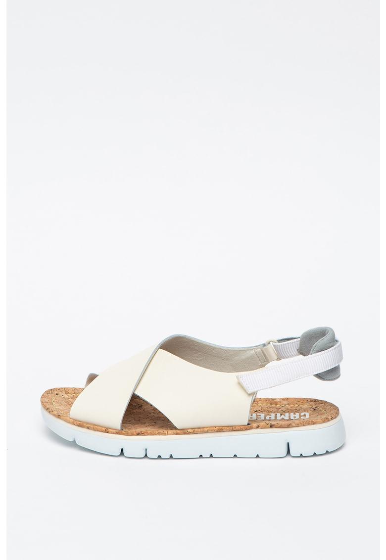 Sandale din piele cu inchidere velcro Oruga poza fashiondays