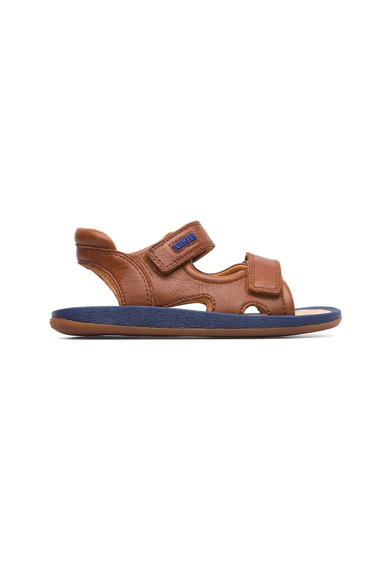 Sandale de piele cu velcro Bicho imagine