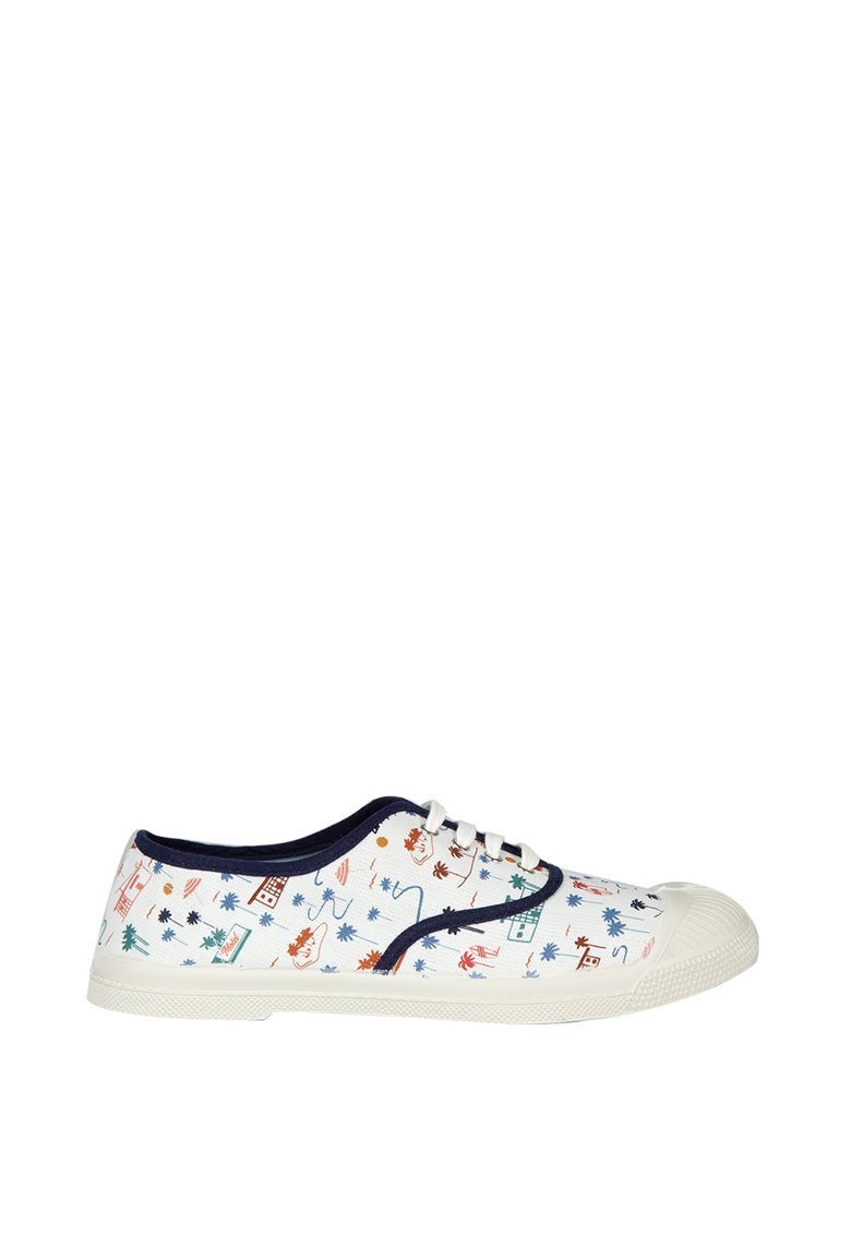 Pantofi sport cu model grafic imagine fashiondays.ro