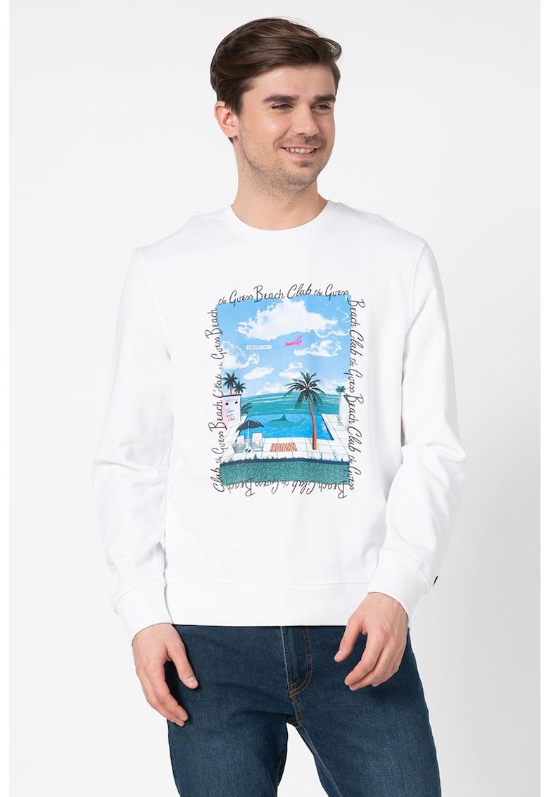 Bluza sport regular fit cu imprimeu grafic