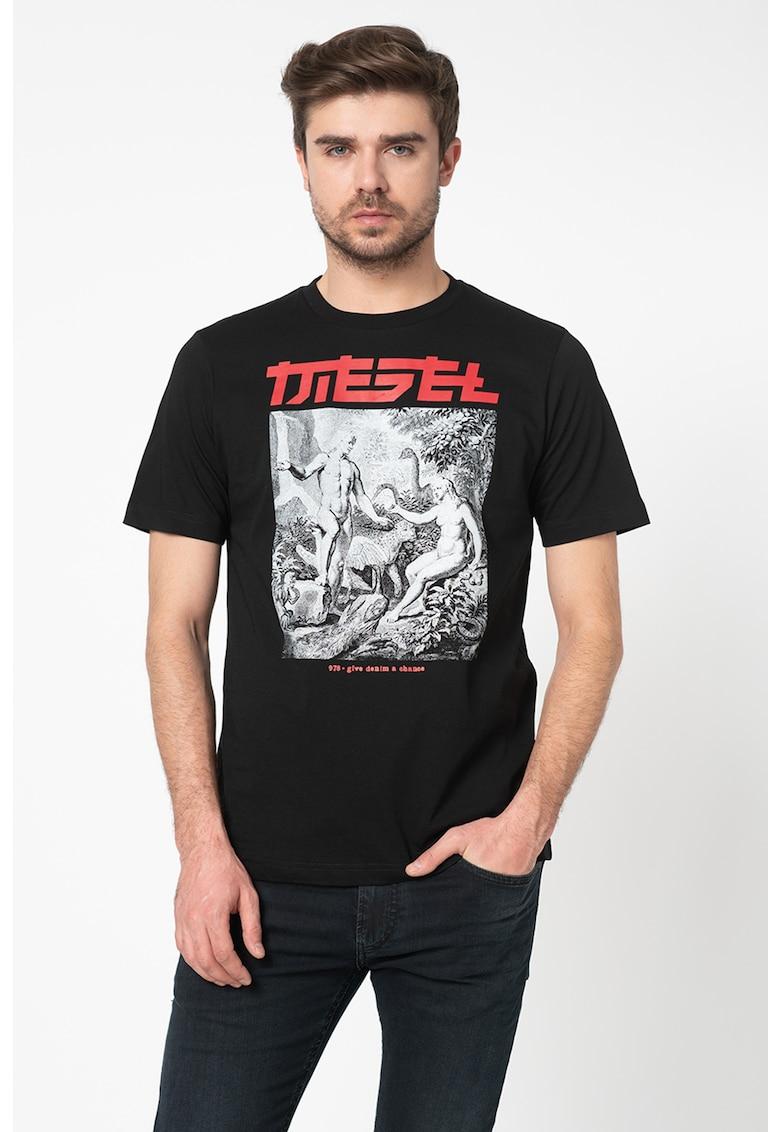 Diesel Tricou cu imprimeu logo T-Just-Xd