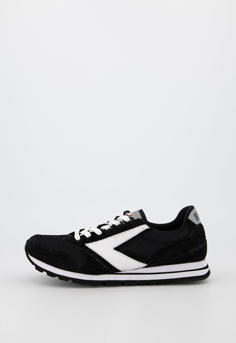 Pantofi sport din piele intoarsa ecologica cu insertii de plasa Chariot
