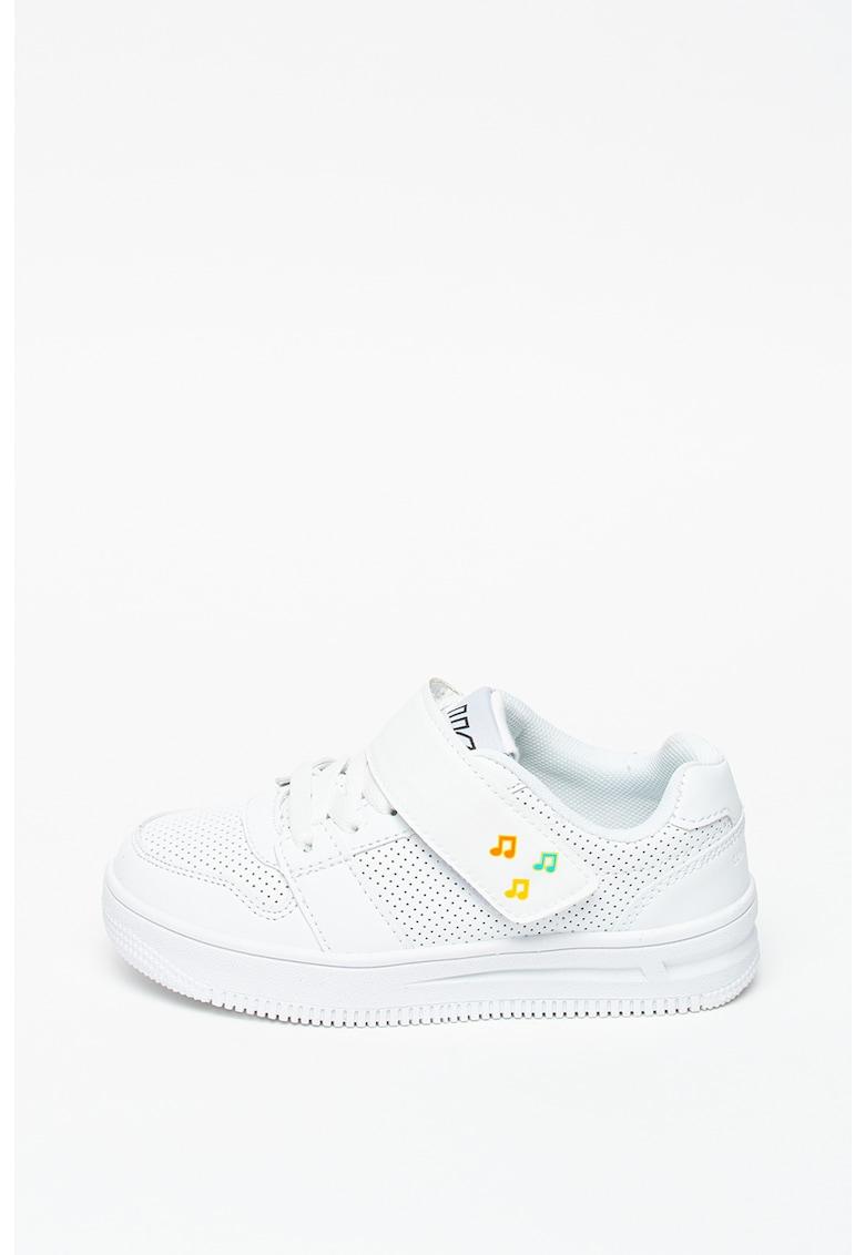 Pantofi sport de piele ecologica - cu perforatii Game imagine