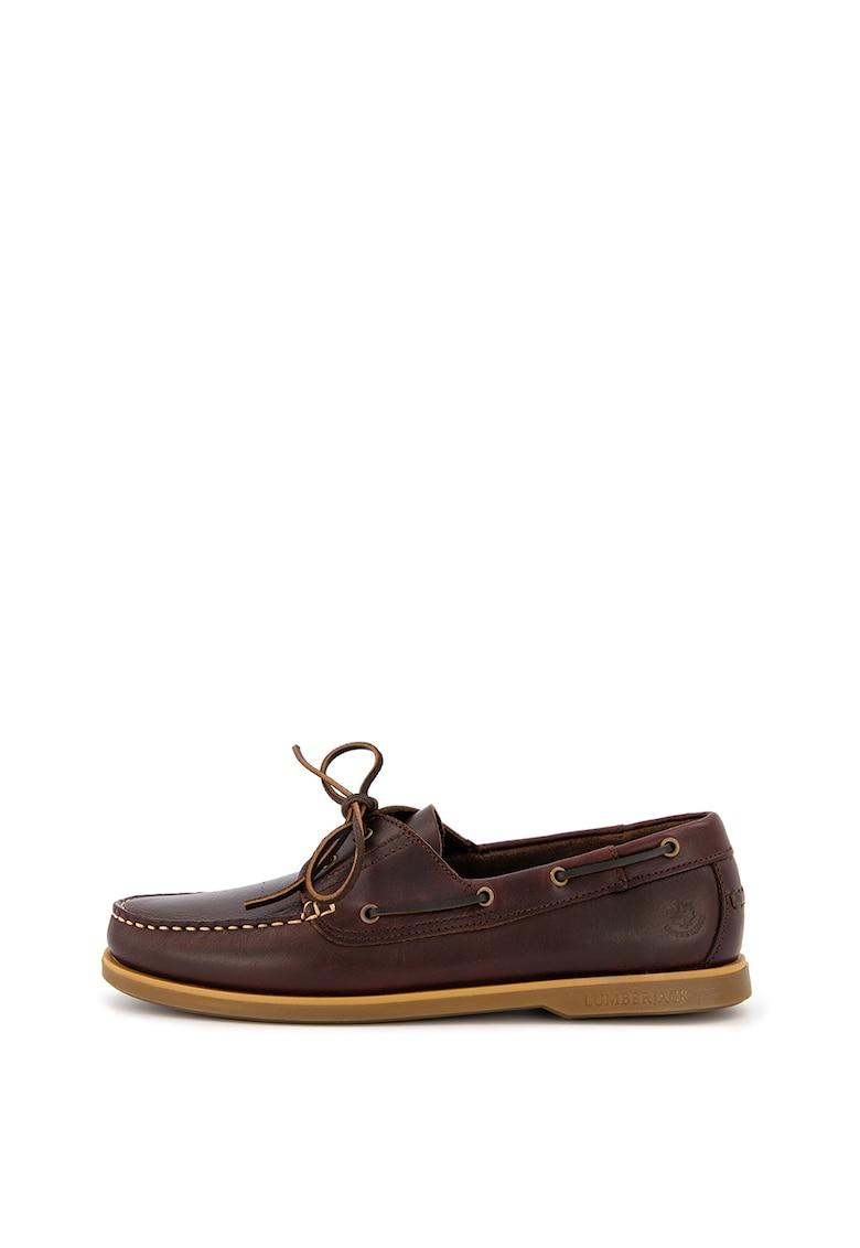 Pantofi loafer de piele nabuc Navigator imagine