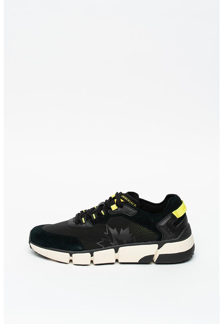 Pantofi sport de plasa si piele Dynamic