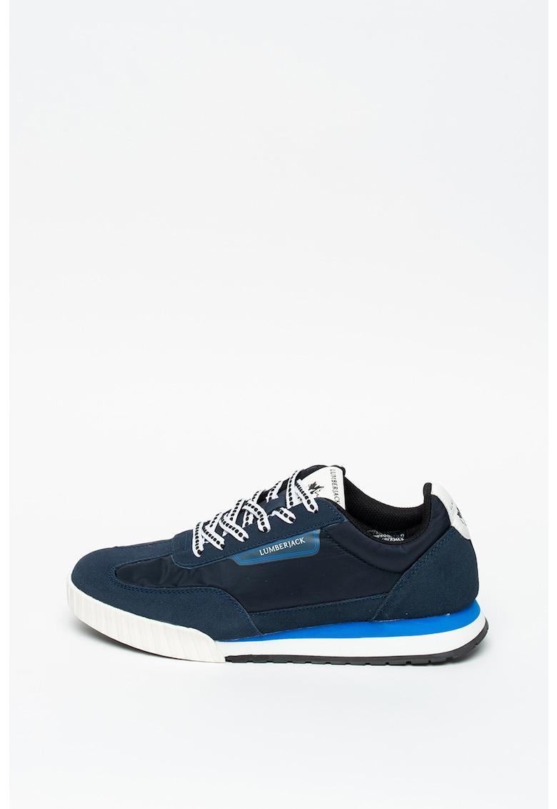 Pantofi sport cu insertii de piele intoarsa Jimmy imagine