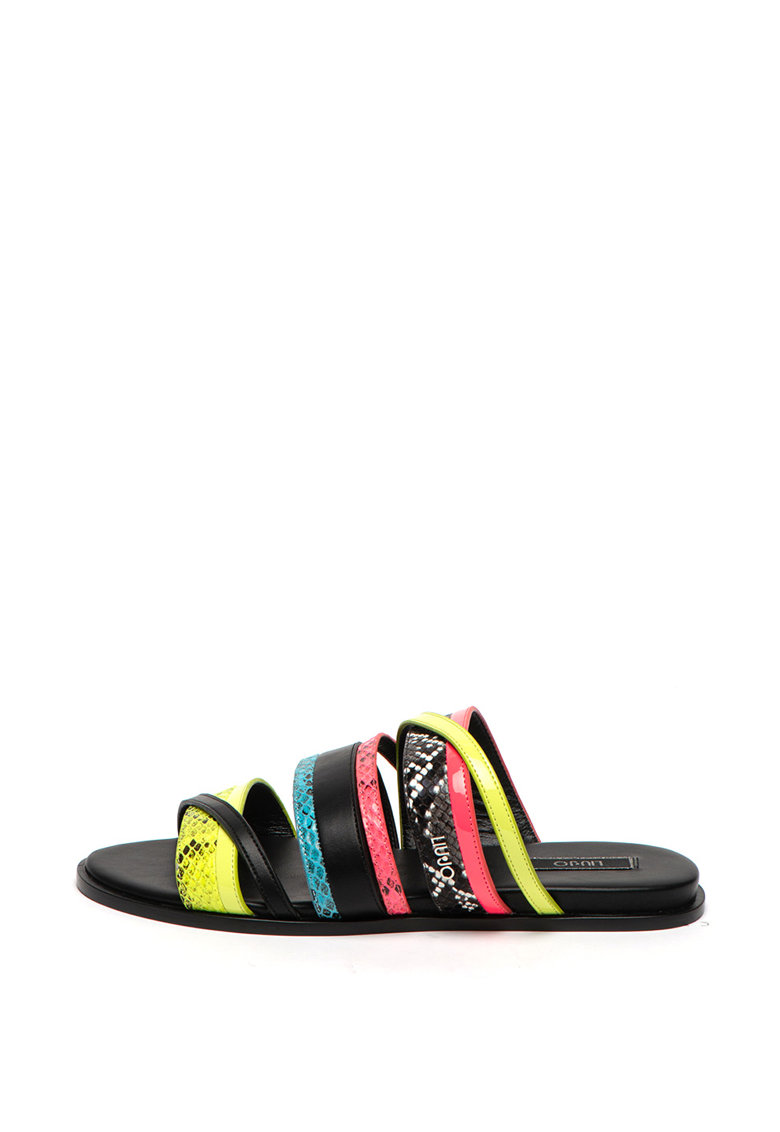 Papuci de piele ecologica Thea