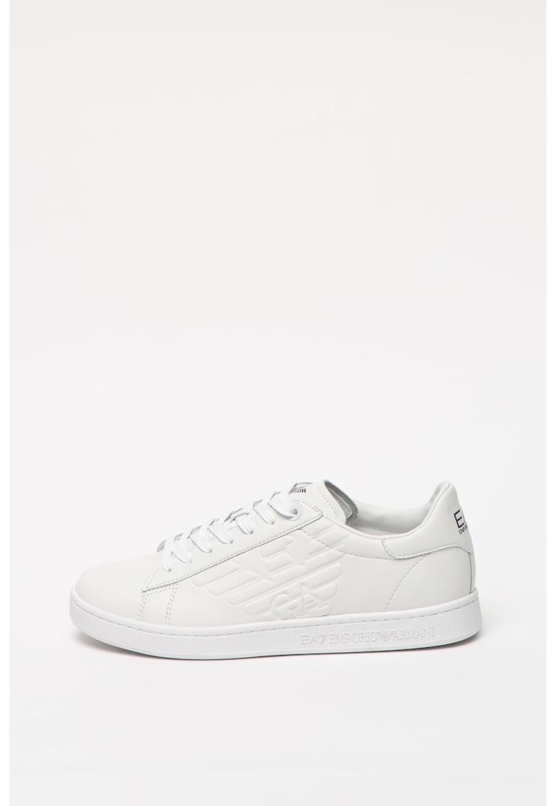 Pantofi sport de piele peliculizata