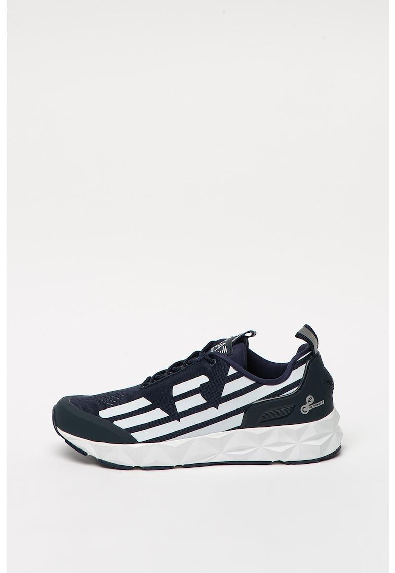 Pantofi sport unisex cu insertii de plasa