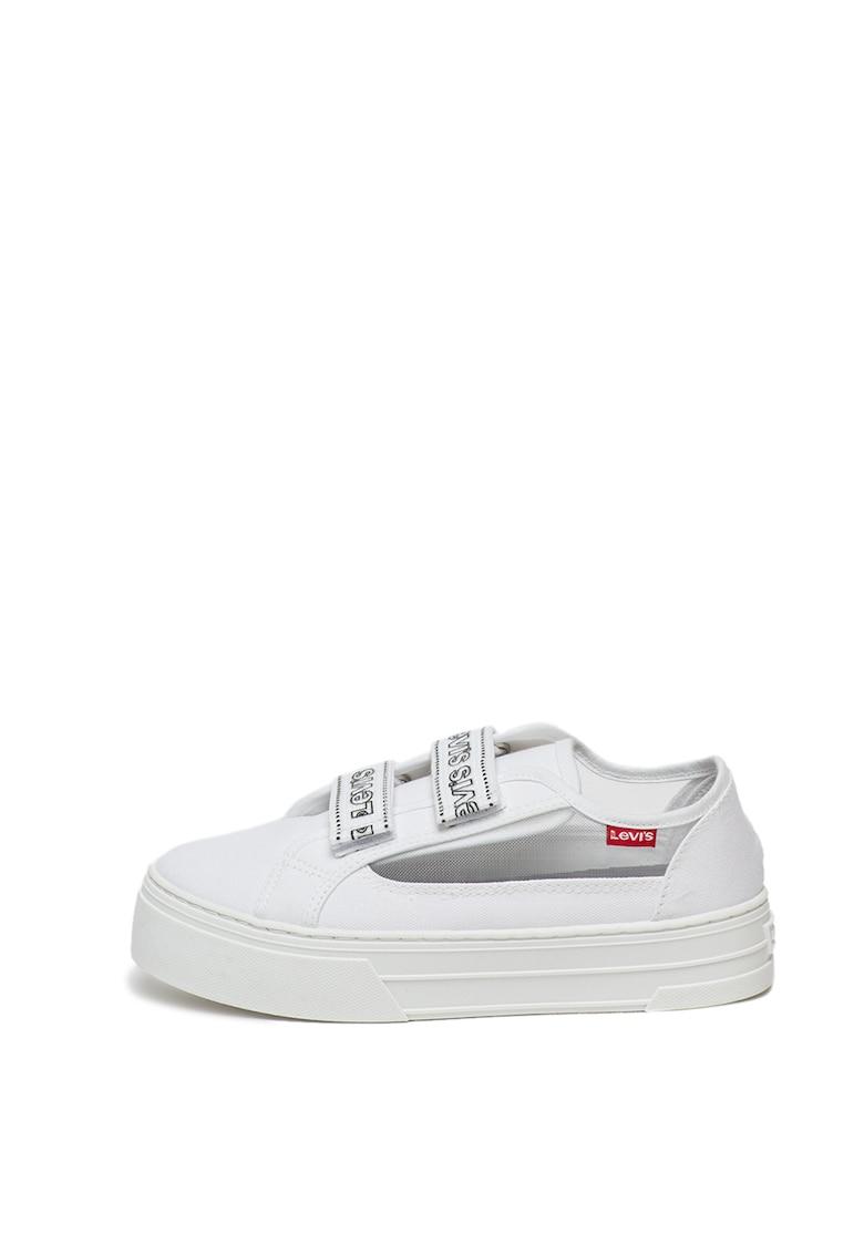 Pantofi sport cu velcro si garnituri de plasa Tijuana