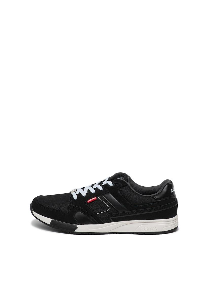 Pantofi sport cu garnituri de piele intoarsa Sutter 1