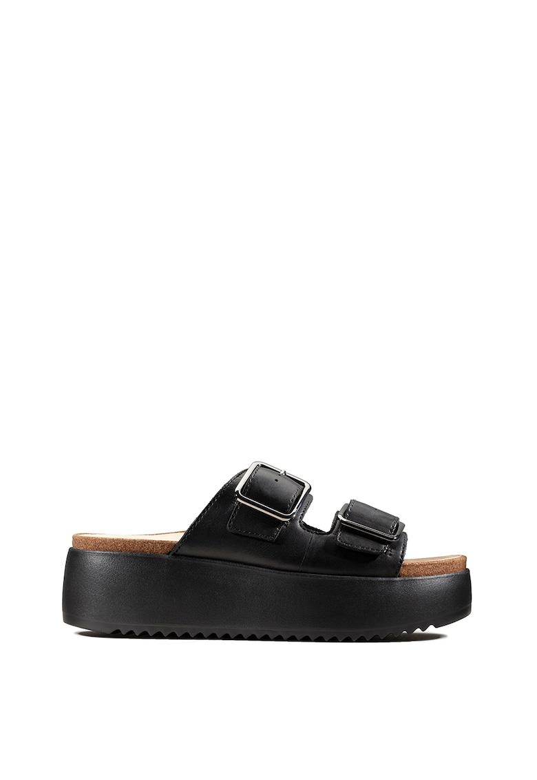 Papuci de piele Botanic