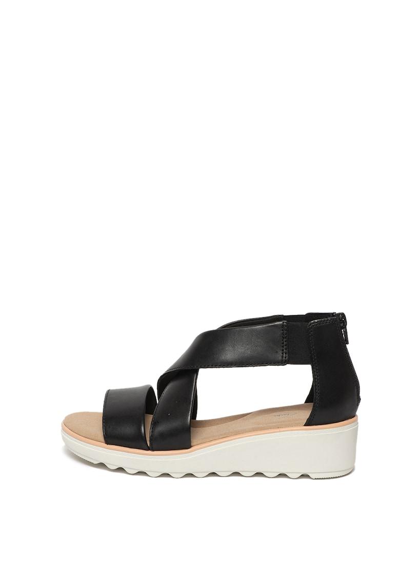 Sandale din piele Jillian poza fashiondays