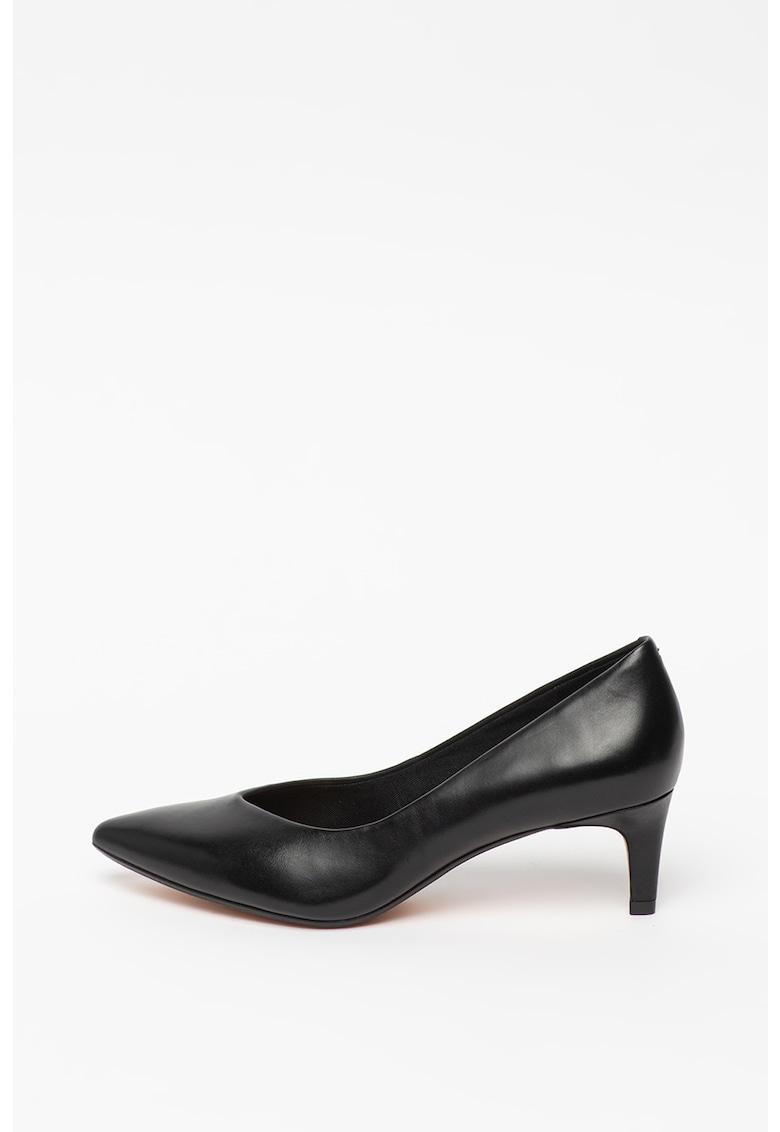 Pantofi de piele cu varf ascutit Laina55 imagine