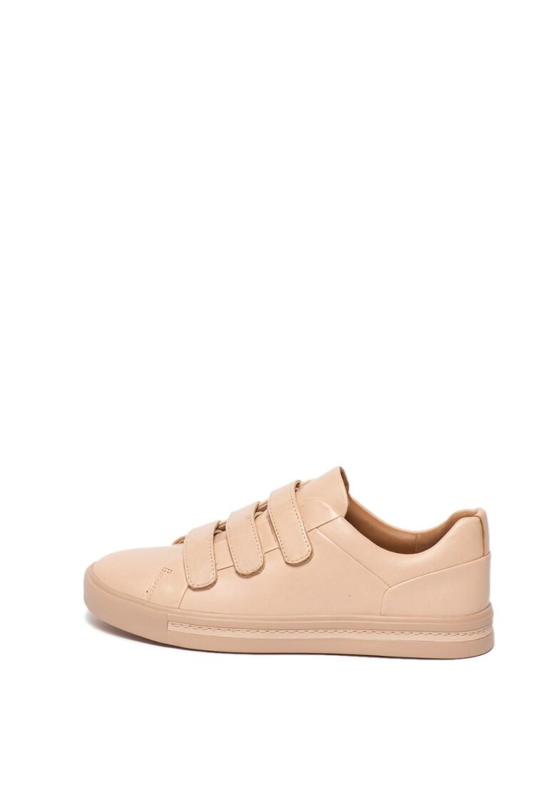 Pantofi sport de piele cu velcro Un Maui