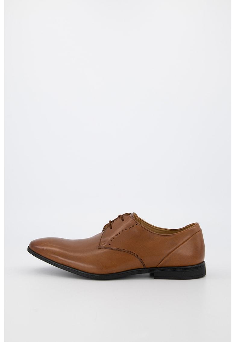 Pantofi de piele cu sireturi Bampton