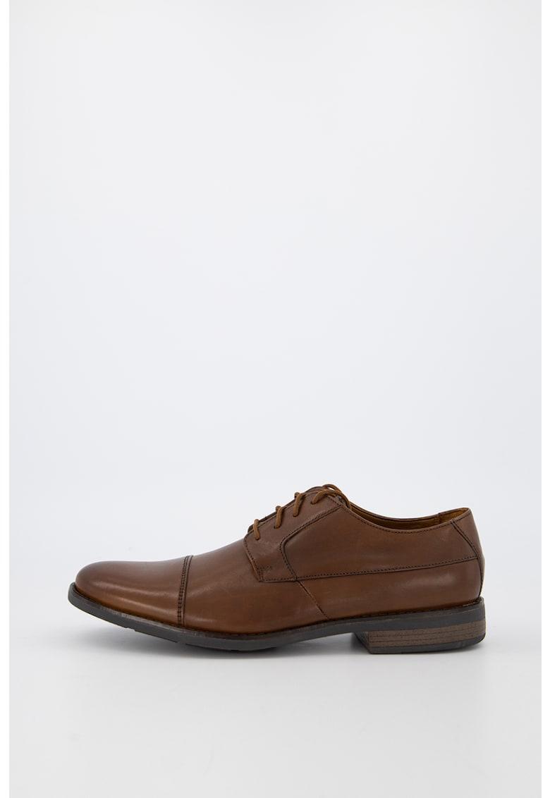 Pantofi de piele cu sireturi Becken Cap