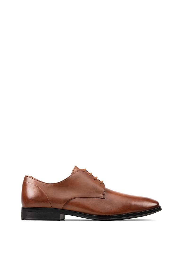 Pantofi derby de piele Gilman imagine